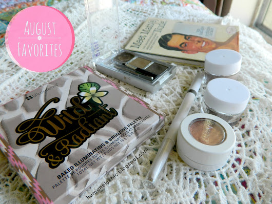 August Favorites || a.m. Friendly Products
