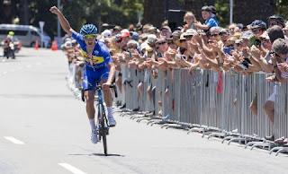 Jason Christie juara etape 3 ITdBI 2016.