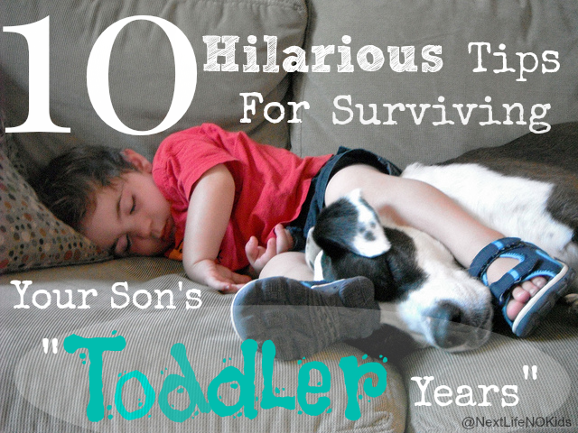 "LOL!!! 10 #Hillarious Tips for Surviving ""The Toddler Years"""