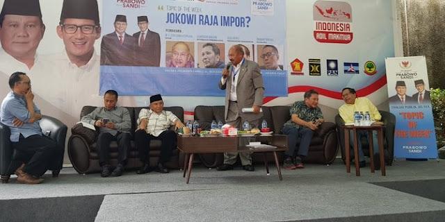 Rizal Ramli: Jokowi Takut Ditekan Sama yang Brewoknya Banyak