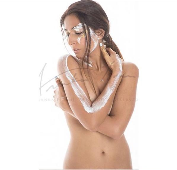 Monica Dogra Posed Topless Photoshoot