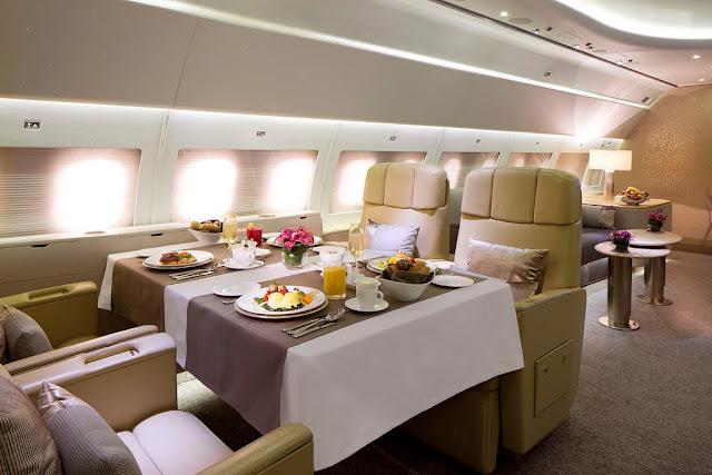 Contoh Kebutuhan Tersier - Transportasi Udara (Pribadi)