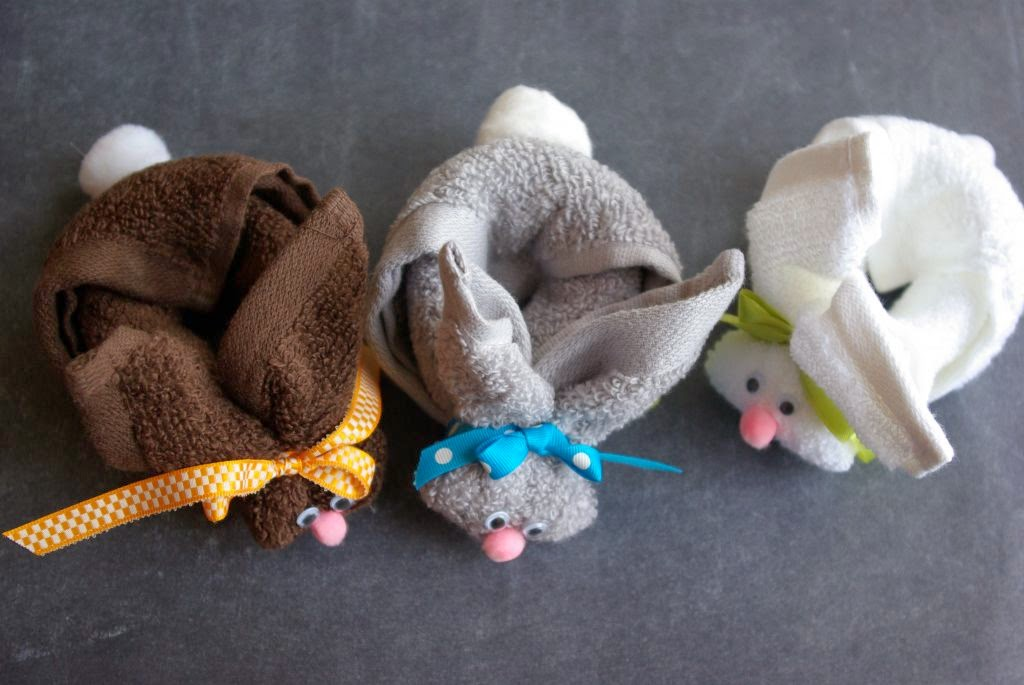 Diy Washcloth Bunny The Idea King