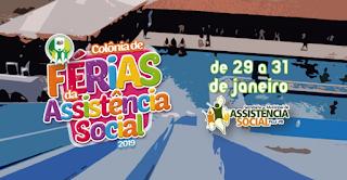 Colônia de férias 2019 começa nesta terça-feira em Picuí