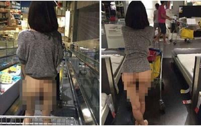 Πελάτισσα ξέχασε να βάλει εσώρουχα και «έριξε» το διαδίκτυο