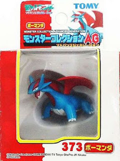 Salamence figure Tomy Monster Collection AG series