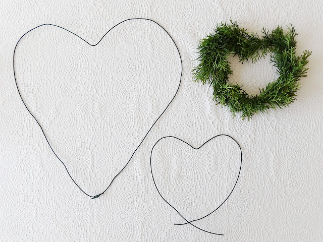 DIY-Deko-Herz für die Wand aus Draht, Eukalyptus und Thuja als Lieblinge & Inspirationen der Woche | www.mammilade.blogspot.de