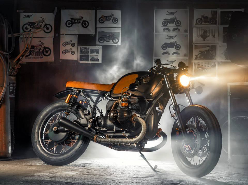 "BMW R60/5 ""Copper"":: Dream Wheels Heritage."