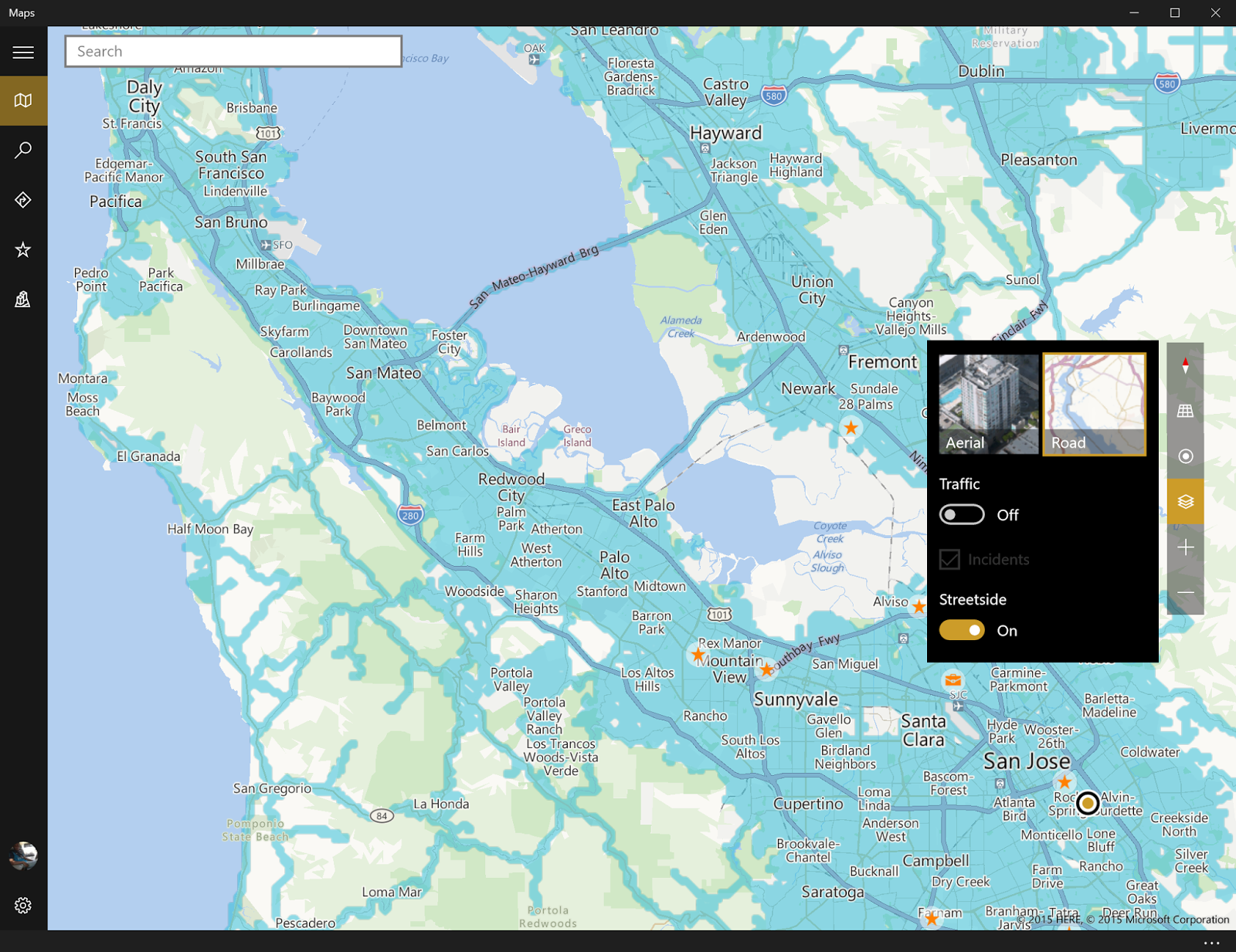 Universal Windows Maps app for Windows 10 & Windows 10