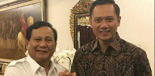 Demokrat Buka Pintu Usung Prabowo-AHY