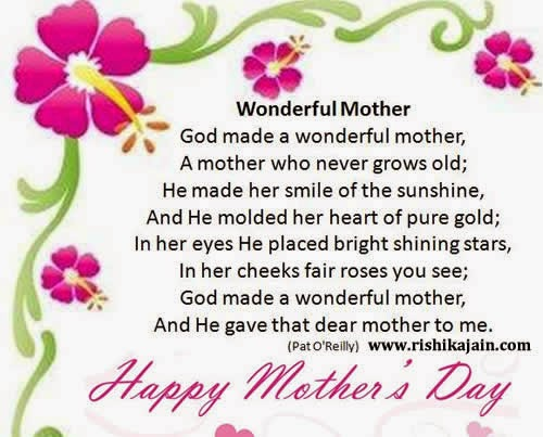asdasds: Happy Mothers Day Poem in Hindi,English From ...