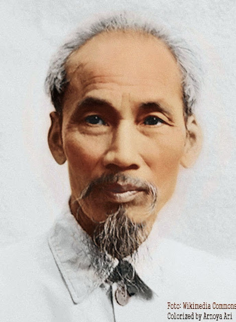 Ho Tši Minh, colorized