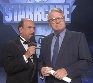 WCW Starrcade 1997 review - Mean Gene Okerlund interviews J.J. Dillon