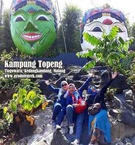 Kampung Topeng, Tlogowaru, Kedungkandang, Malang