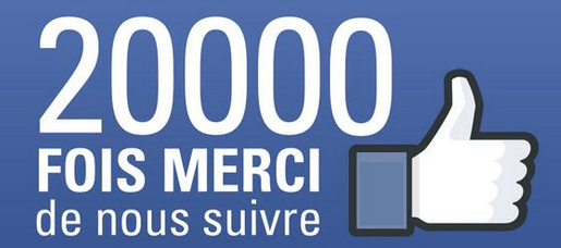 20.000 Fans sur la page Facebook de Chess & Strategy