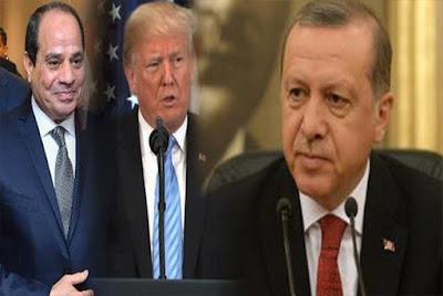 واقعة إحراج أردوغان, ترامب, السيسي,