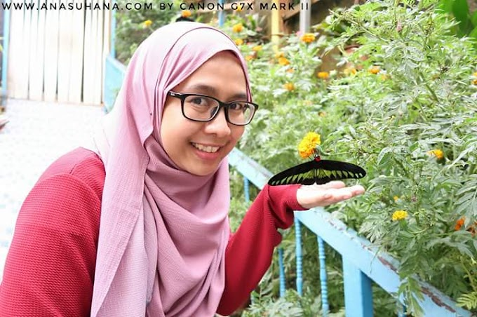 Blogger Ana Suhana Yang Ceria dan Comel