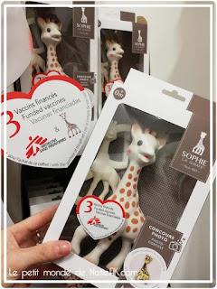 jouet bio français coffret Sophie la Girafe award