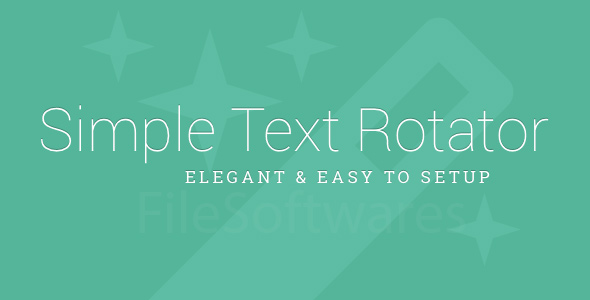 Text Rotator WordPress Plugin Free