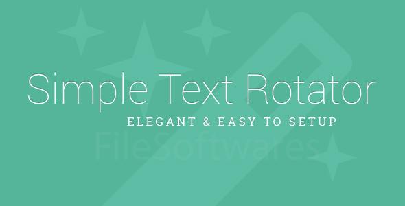 Text Rotator WordPress Plugin Free