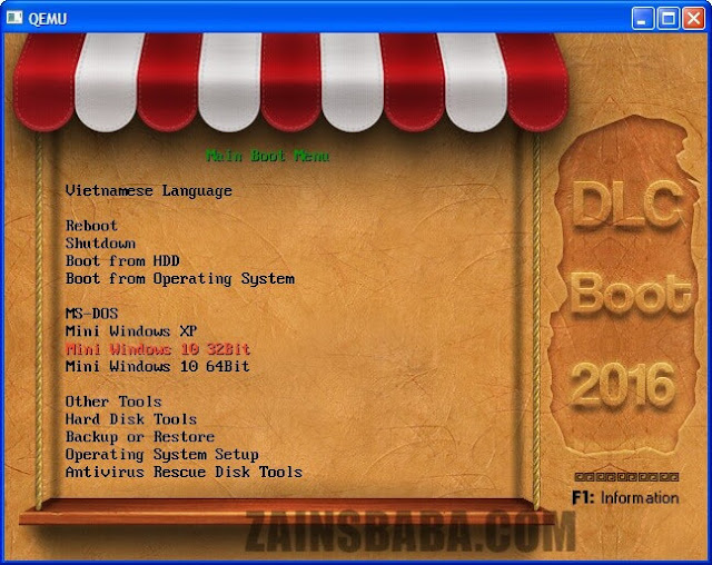 DLC Boot 3.4 Build 170615 (x86/x64) ISO Latest Free Download
