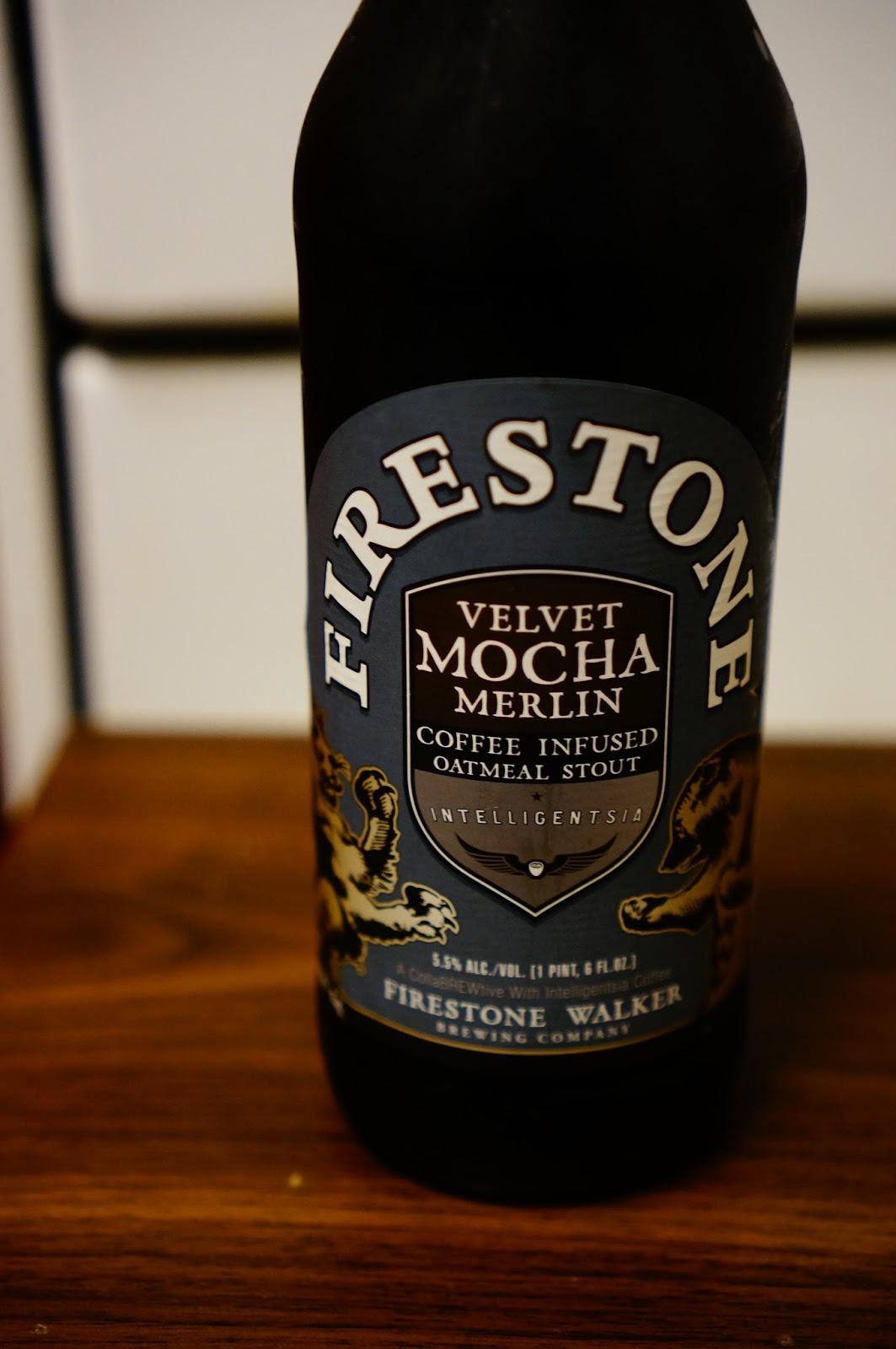 Firestone Walker Velvet Mocha Merlin, bottle