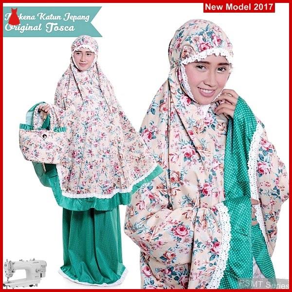 PSMT027A Mukena Muslim Jepang Toska Muali 65000