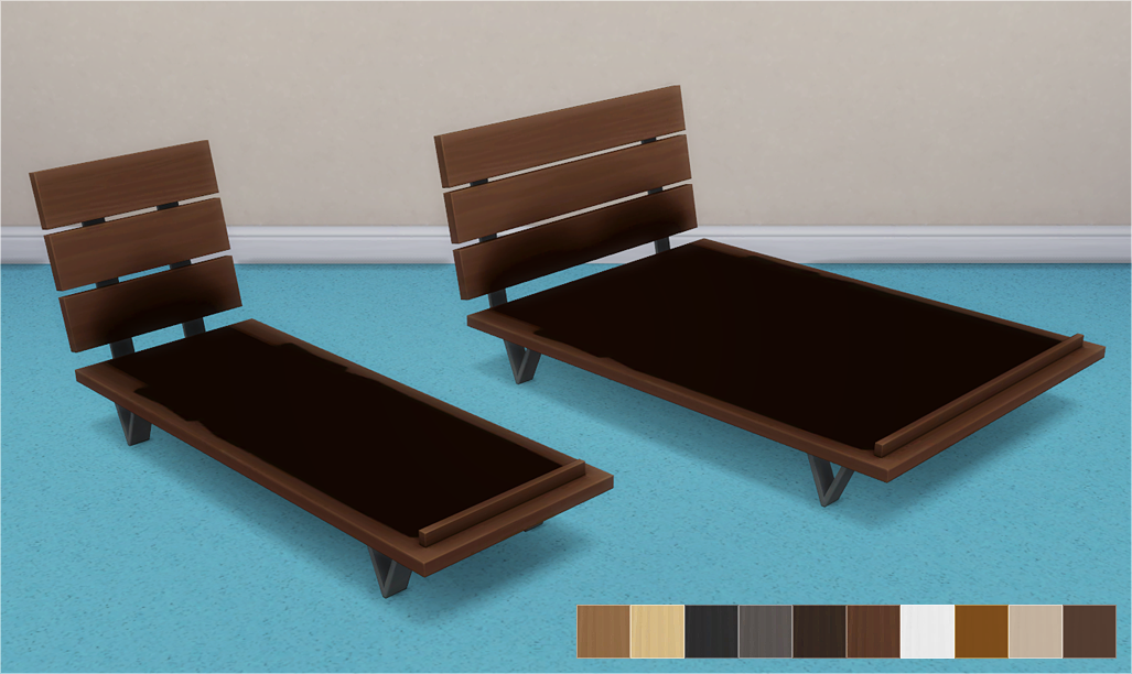 My Sims 4 Blog Futon Bed Frames And Mattresses By Veranka