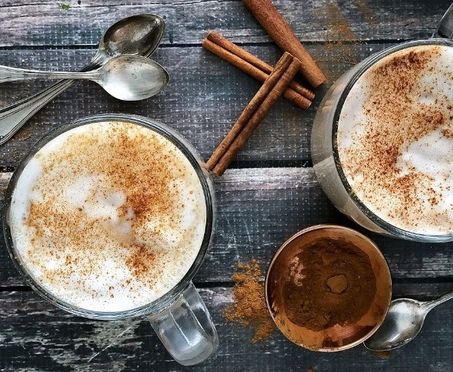 Almond Milk Chai Latte #falldrink #latte