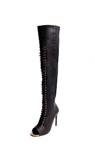 Ivy Kirzhner Crane thigh-high boot