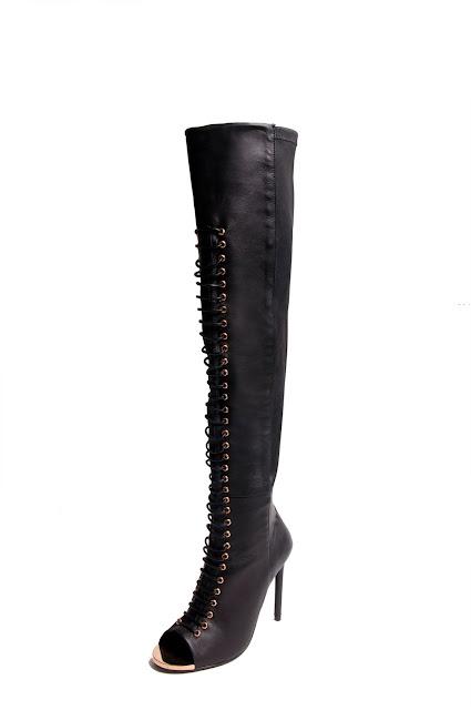 Ivy Kirzhner Crane thigh-high boot
