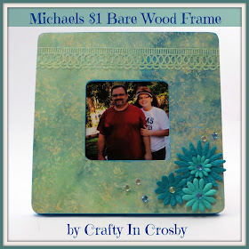 Crafty In Crosby Scrapbook Paper Covered Frames
