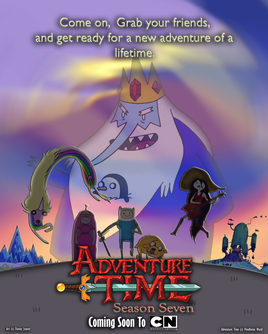 Watch Adventure time season 3 Full Episodes