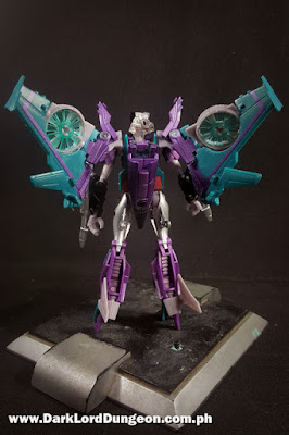 Takara Decepticon Slipstream backview