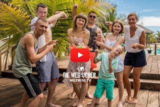 Arugam Bay 30. Geburtstag feiern auf Weltreise in Sri Lanka, Die Wegsucher, Arkadij und Katja