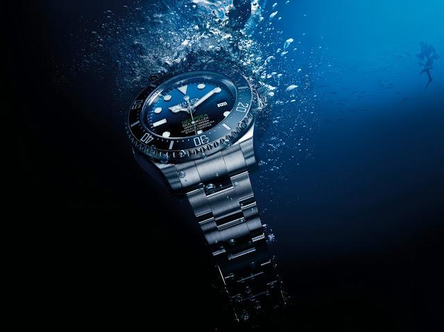 Photo of Rolex Deepsea underwater