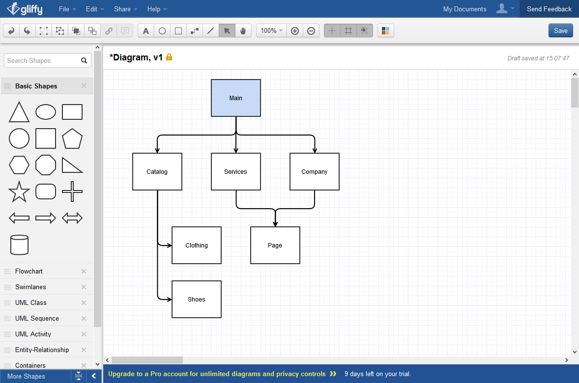 Usability Tips: Online diagrams and flowcharts: Lucidchart ...