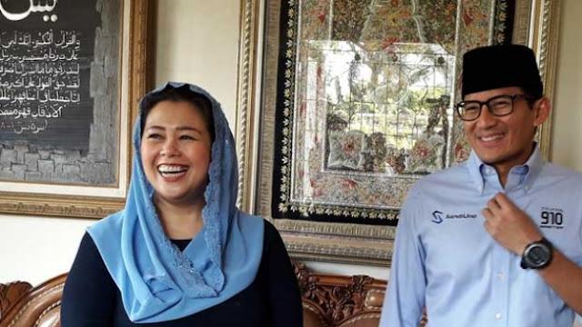 Diajak Sandiaga, Yenny Wahid Dipersiapkan Jadi Ketua Timses?