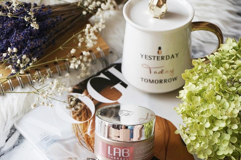 Lirene Lab Therapy miodowa maska do masażu twarzy pielęgnacja