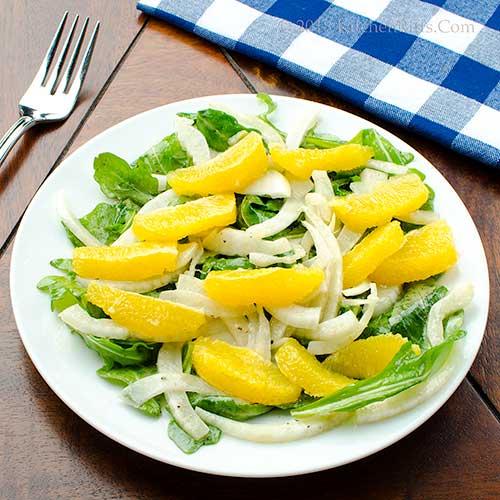 Fennel, Orange, and Arugula Salad