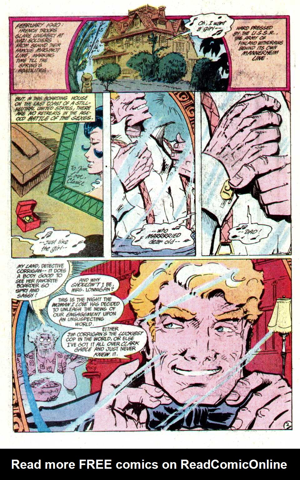 Read online Secret Origins (1986) comic -  Issue #15 - 24