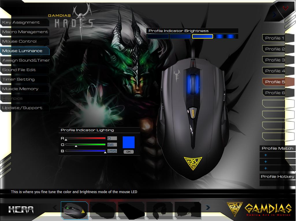 Gamdias Hades Extension Optical Gaming Mouse 71