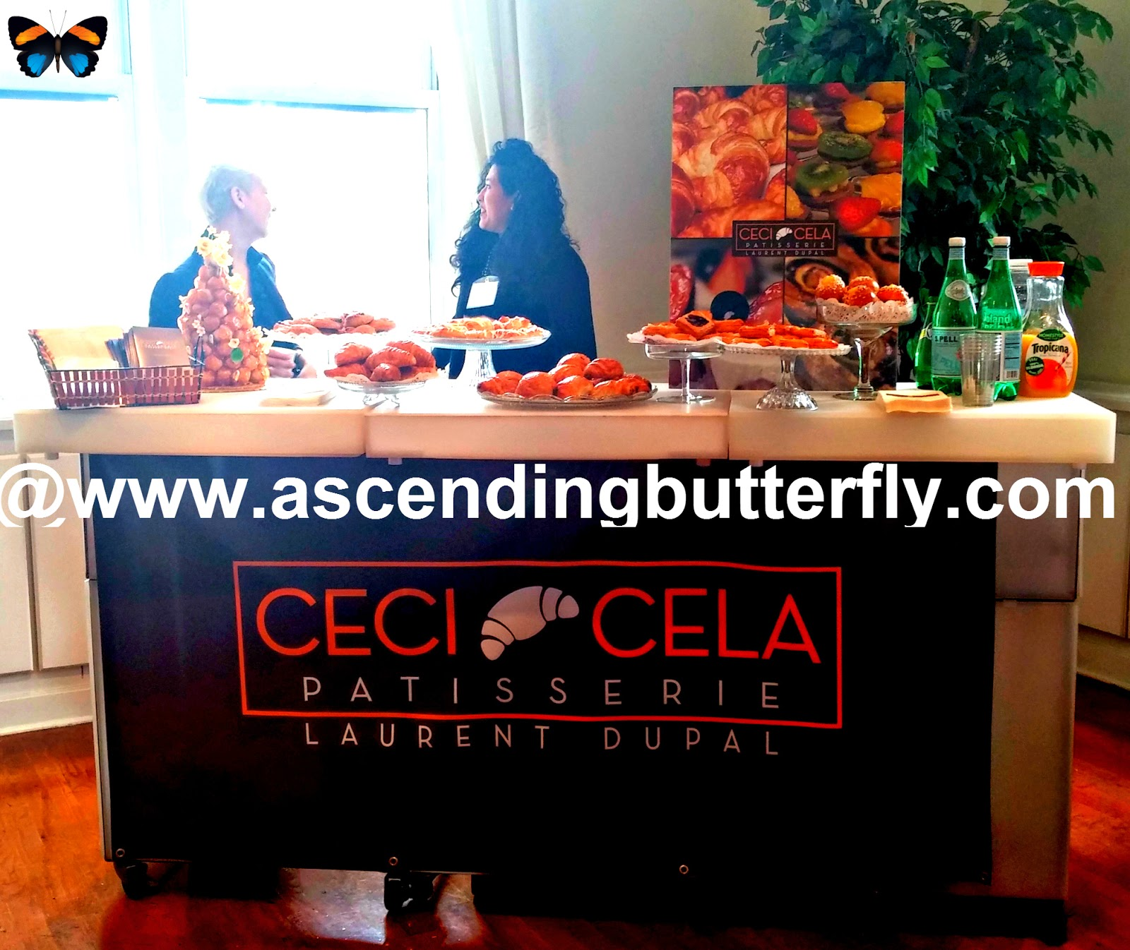 Ceci Cela Patisserie at BeautyPress Spotlight Day February 2014