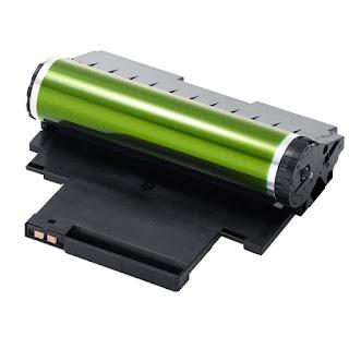 Laser printer drum