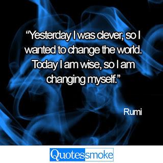 Rumi Wisdom Quotes