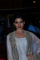 Samantha Ruth Prabhu cute in Lace Border Anarkali Dress with Koti at 64th Jio Filmfare Awards South ~  Exclusive 034.JPG