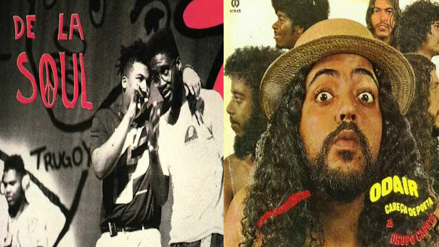 "Musica ""The art of getting jumped"" do trio ""De la Soul"" tem sample de um forro do Odair cabeça de poeta & grupo capote gravado em 1975"