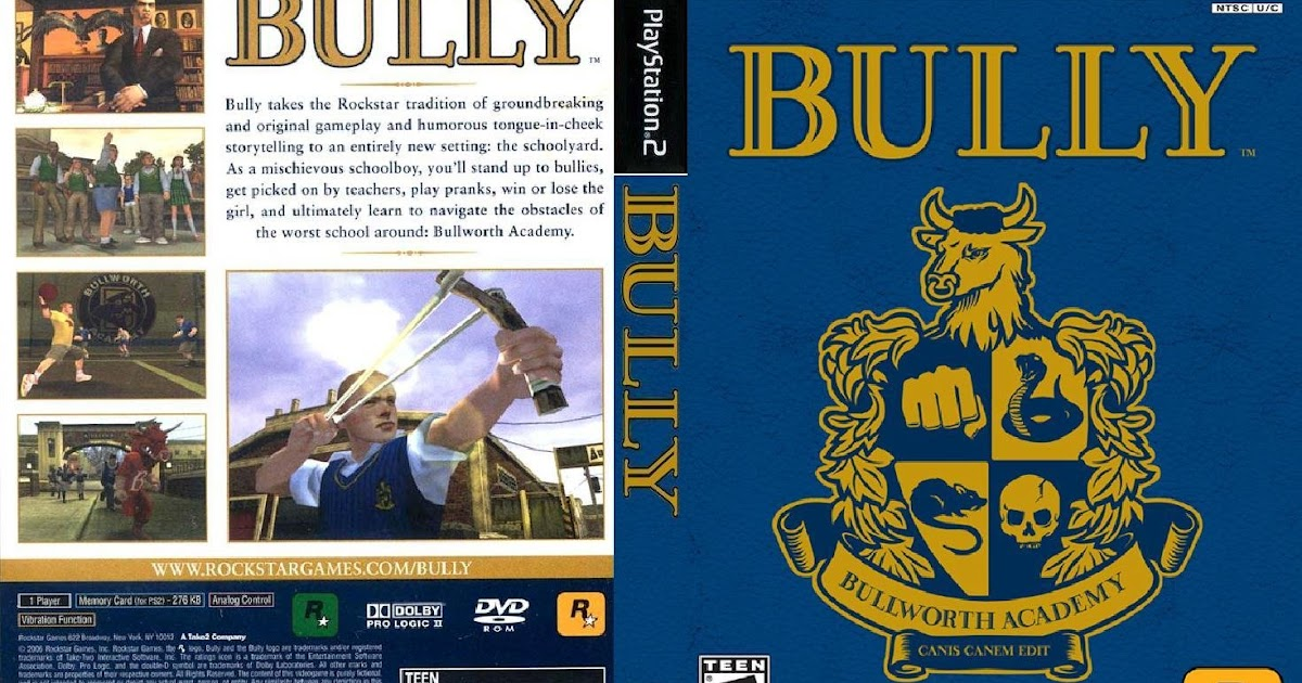 Download Bully Scholarship Edition For Pcsx2 Bios