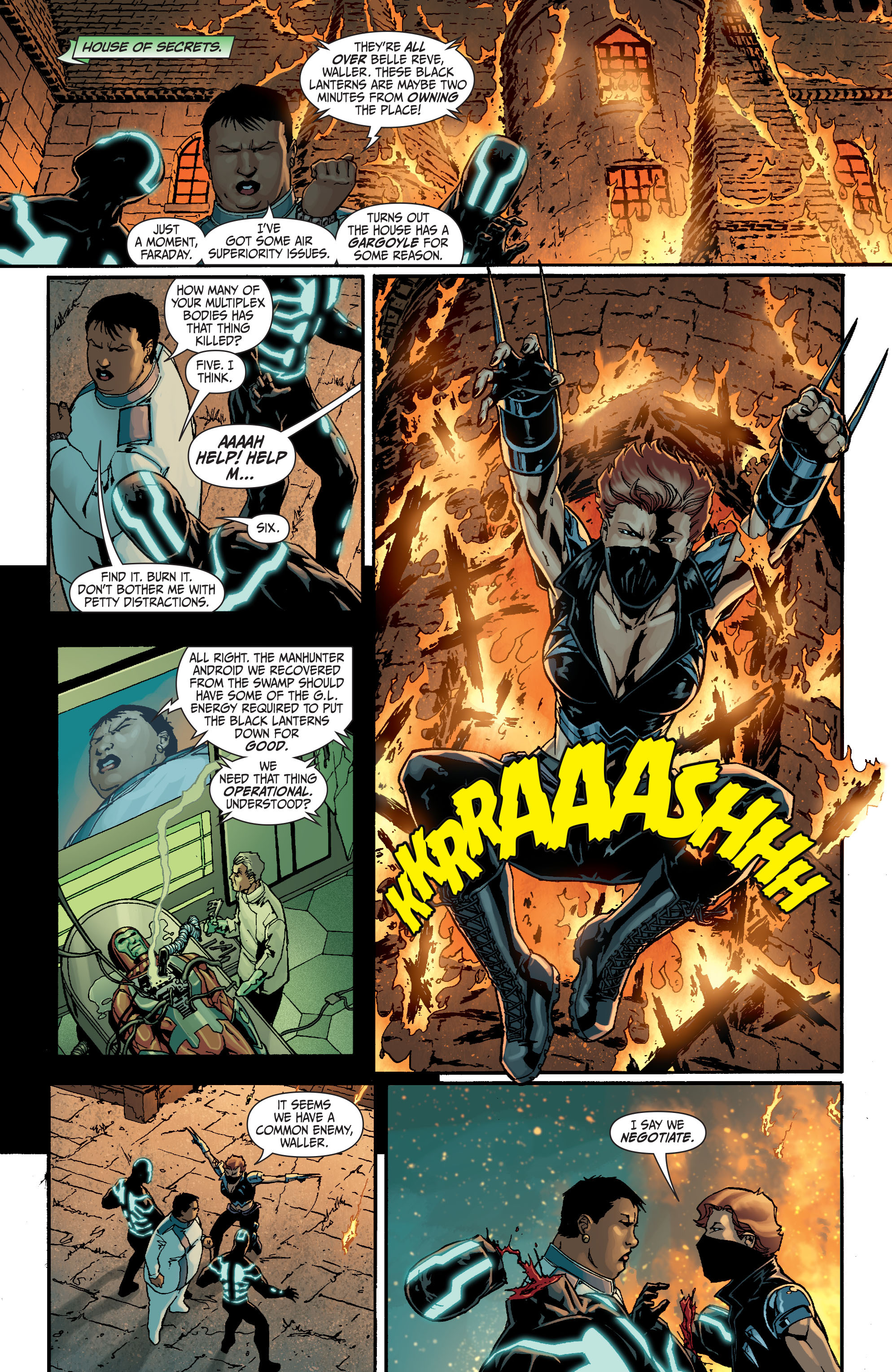 Read online Secret Six (2008) comic -  Issue #18 - 5