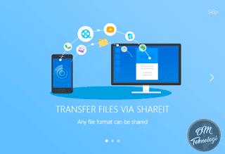 Cara Memindahkan Data Menggunakan Aplikasi Shareit
